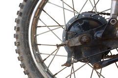 De rem van de motorfietstrommel stock afbeelding