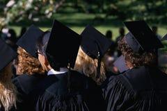 De remise des diplômes d'université à l'UCLA Images stock
