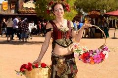 2016 de Renaissancefestival van Arizona Royalty-vrije Stock Afbeeldingen