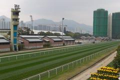 De Renbaan van het Tin van Sha, Hongkong Royalty-vrije Stock Afbeelding