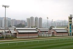 De Renbaan van het Tin van Sha, Hongkong Stock Fotografie