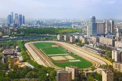De renbaan van Moskou Royalty-vrije Stock Afbeeldingen