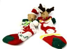 De Rendieren van Kerstmis stock afbeeldingen