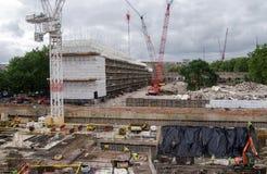 De renovatie van het Heygatelandgoed, Londen Stock Foto