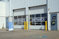 De reparatie en de dienst van de auto stock foto