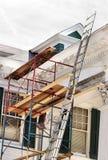 De reparatie en het onderhoud van het huis Stock Fotografie
