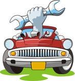 De reparatie van de auto Royalty-vrije Stock Afbeeldingen