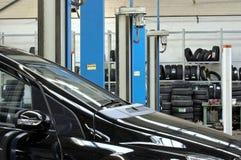 De reparatie van de auto Stock Fotografie