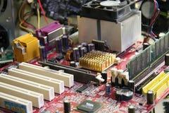 De reparatie van de computer Stock Afbeeldingen