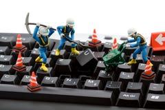 De reparatie van de computer Royalty-vrije Stock Fotografie