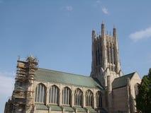 De Reparatie van de Kathedraal van Spokane Stock Fotografie