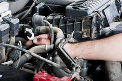 De reparatie van de motor Stock Foto's