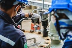 De reparatie van het de industriewerk stock fotografie