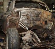De reparaties van de auto Stock Foto