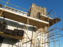 De Reparaties van de kerk Stock Foto