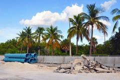 De Reparaties van de weg stock foto