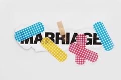 De reparatiesamenvatting van het huwelijk Royalty-vrije Stock Foto's