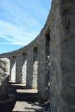 De replica van Stonehenge Stock Foto