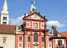 De Republiek van het Kasteel I-Tsjech van Praag Royalty-vrije Stock Afbeelding