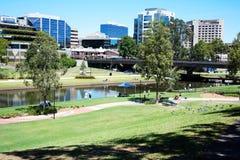 De Reserve @ Parramatta, Sydney van de rivierwaterkant Royalty-vrije Stock Foto's