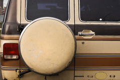 De reserveonderdelen van de bestelwagen Royalty-vrije Stock Foto's