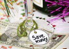 De Resolutie van het nieuwjaar Royalty-vrije Stock Foto