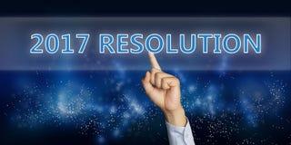 De Resolutie van nieuwjaren Stock Foto's