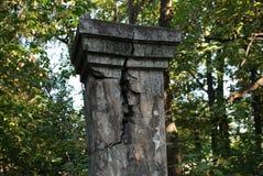 De rest van de kolom - achtergrond, wijnoogst royalty-vrije stock afbeelding