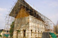 De restauratie. stock fotografie
