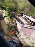 de restorant pool van de water zonnige dag Royalty-vrije Stock Fotografie