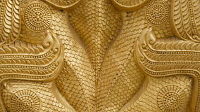 De retour de Dragon Texture d'or Photos stock