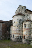 De retour de l'abbaye romaine Image stock