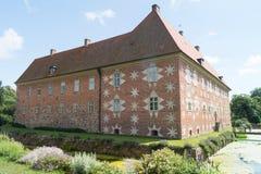 De retour du château de Krapperup Photos stock