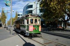 De retour sur la voie à Christchurch Images stock