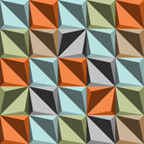 De retro abstracte achtergrond Stock Afbeelding