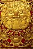 De reus eet de zon (Verduistering van de zon) Royalty-vrije Stock Fotografie
