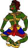 De reus van Thailand royalty-vrije illustratie