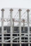 De reusachtige bouwwerf in de dag Stock Foto