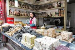 De reusachtige selectie van snoepje behandelt Royalty-vrije Stock Foto