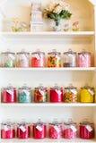 De reusachtige selectie van snoepje behandelt Stock Foto