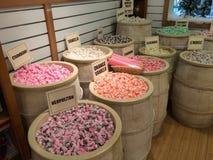 De reusachtige selectie van snoepje behandelt Royalty-vrije Stock Foto's