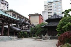 De Reuzeboedha tempel van Fukuoka in Fukuoka Stock Foto's
