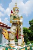 De reuzen bewaken Boeddhistische tempels Royalty-vrije Stock Fotografie