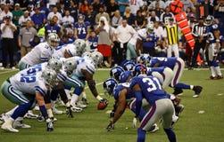 De Reuzen Romo die van cowboys Breuk nemen Royalty-vrije Stock Afbeeldingen