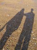 De reuzen van het strand Royalty-vrije Stock Afbeeldingen