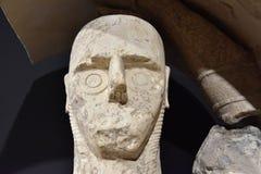 De Reuzen van Mont ` e Prama zijn oude die steenbeeldhouwwerken door de Nuragic-beschaving van Sardinige, Italië worden gecreeerd Royalty-vrije Stock Afbeeldingen