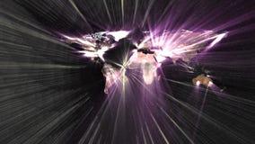 De revolutie van informatietechnologie over wereld Royalty-vrije Stock Afbeelding