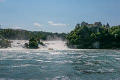 De Rhine fallsna Royaltyfri Fotografi