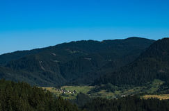 De Rhodope bergen Royaltyfri Fotografi