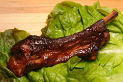 De Rib van het varkensvlees Royalty-vrije Stock Fotografie